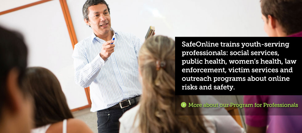 SafeOnline Professional Development Workshops
